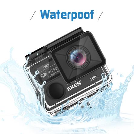 H6s underwater camera